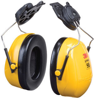 3M™ Peltor™ Optime™ 98 Cap-Mount Earmuffs, Hearing Conservation H9P3E