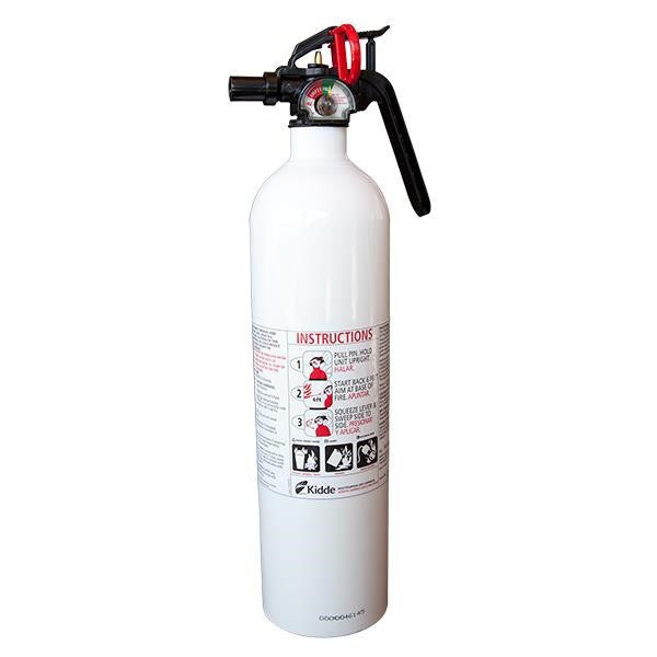 Kidde Mariner 110 2.25 lb ABC Fire Extinguisher w/ Plastic Strap Bracket (Disposable)