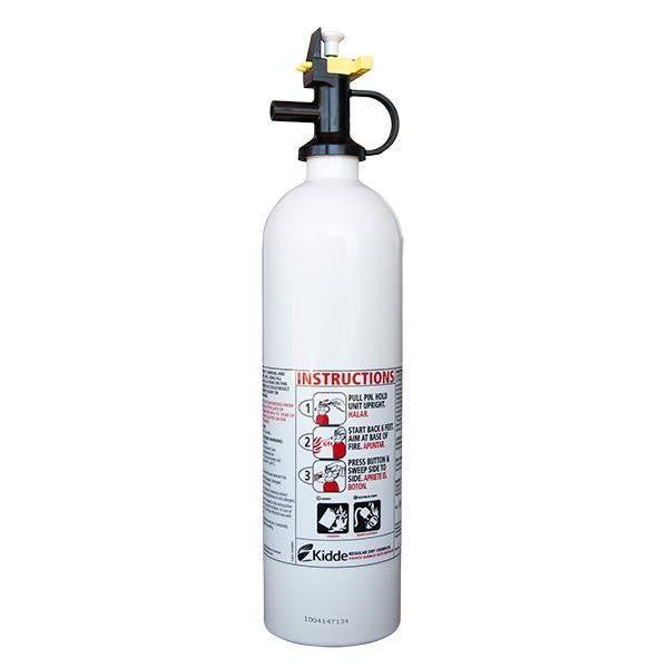 Kidde Mariner 5PWC 2 lb BC Fire Extinguisher w/ Plastic Strap Bracket (Disposable)