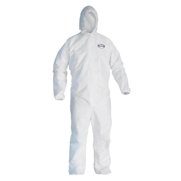KleenGuard™ A20 Breathable Particle Protection Coveralls w/ Hood & Elastic Back