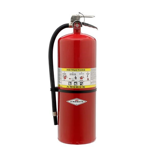 Amerex® 30 lb ABC Compliance Flow Extinguisher w/ Brass Valve
