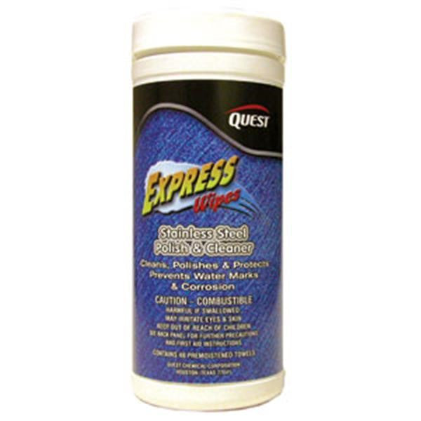 Express Wipes Stainless Steel Polish & Cleaner