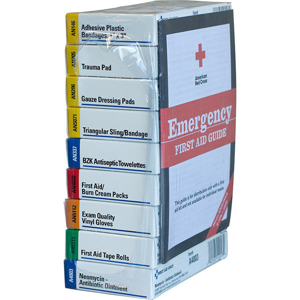 Refill Brick for 10-Unit Unitized First Aid Kits: 238ANAC & 240ANAC