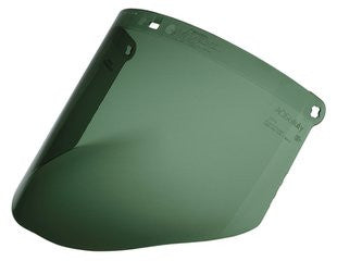 3M™ Dark Green Polycarbonate Faceshield WP96C, Face Protection, Molded