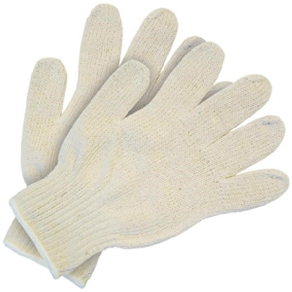Heavy-Weight String Knit Gloves (100% Cotton
