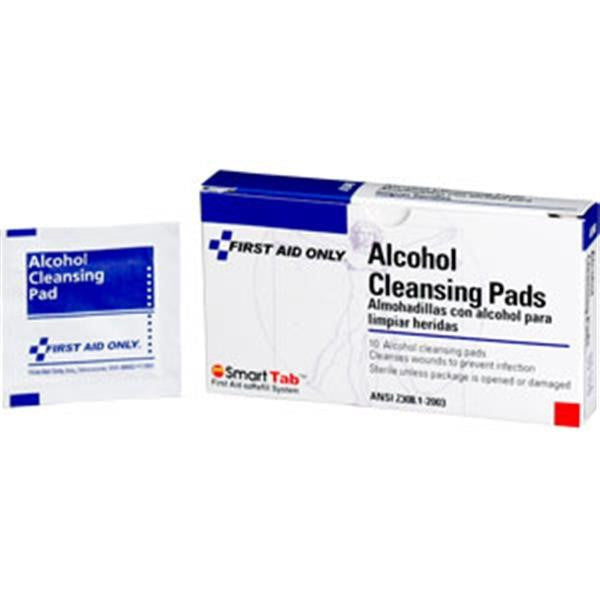 Alcohol Cleansing Pads (10/Box)