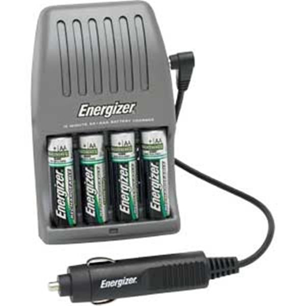 Energizer® Recharge® 15-Minute Fast Charger for AA/AAA Batteries