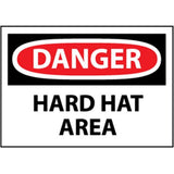 OSHA Danger Hard Hat Area