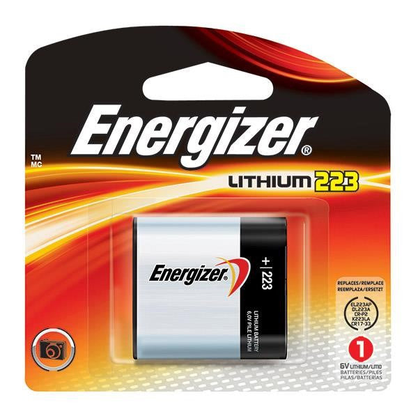Energizer® 223 Lithium Photo/Camera Battery (6V)