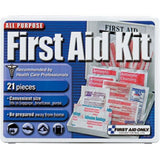 21-Piece Travel First Aid Kit (Plastic Case)
