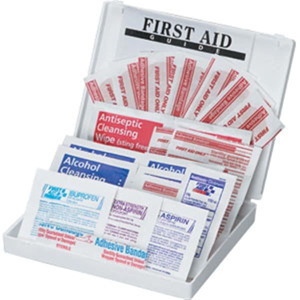 34-Piece All-Purpose First Aid Kit (Plastic Case)
