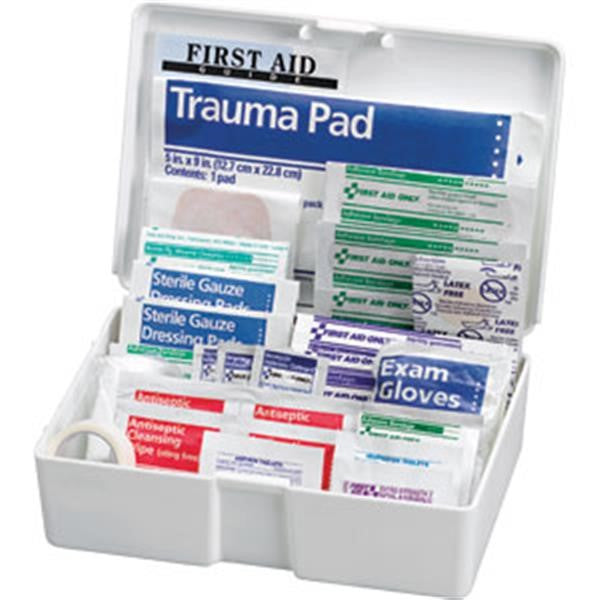 81-Piece All-Purpose First Aid Kit (Plastic Case)