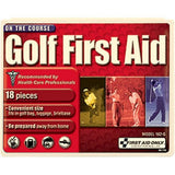 18-Piece Golf First Aid Kit (Plastic Case)