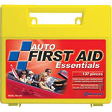 138-Piece Auto First Aid Kit (Plastic Case)