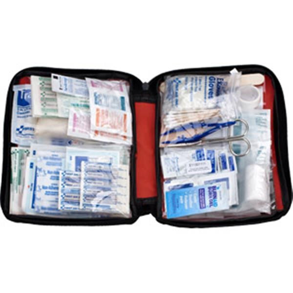 187-Piece Emergency First Aid Kit w/Softpack Case