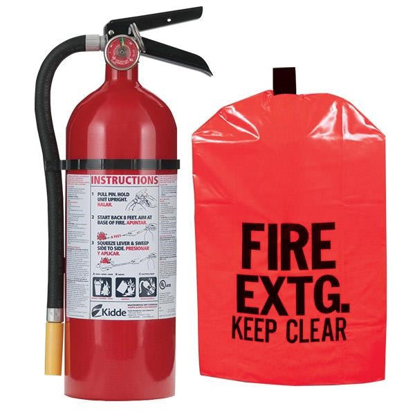 5 lb ABC Pro Line Fire Extinguisher w/ Fire Extinguisher Cover
