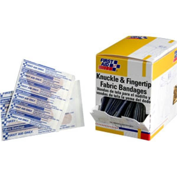 Knuckle & Fingertip Fabric Bandages (25 ea/Box)