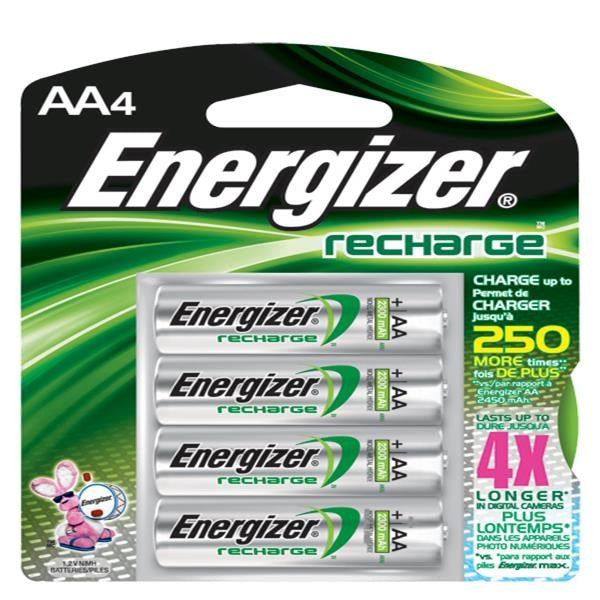 Energizer® Recharge® AA Batteries
