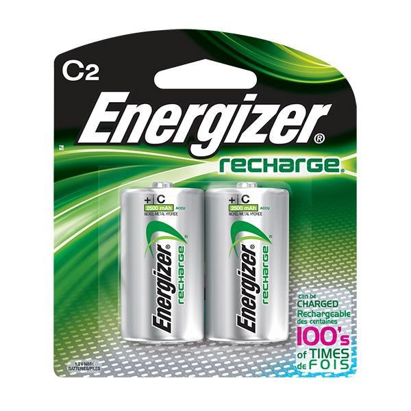Energizer® Recharge® C Batteries