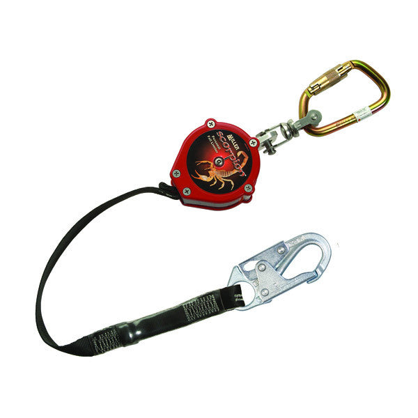 Miller® Scorpion™ Personal Fall Limiter w/ Carabiner