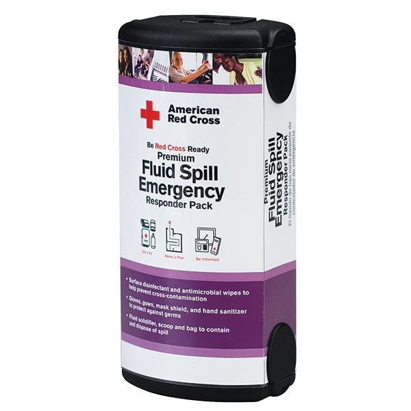 American Red Cross Fluid Spill Emergency Pack
