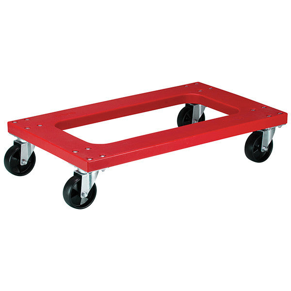 Flush Polyethylene Dolly With Casters
