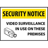 Security Notice Video Surveillance...