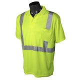 Class 2 Short Sleeve High Visibility Safety Polo