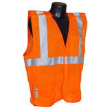 Class 2 Mesh Breakaway Orange