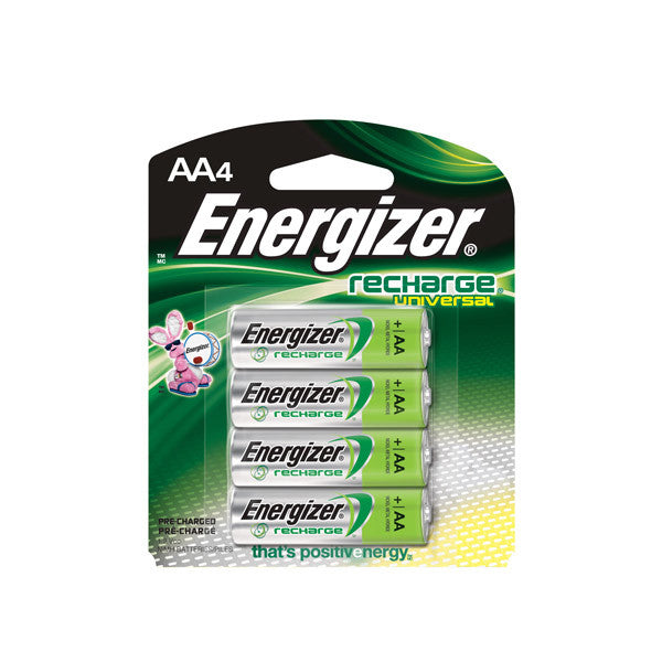 Energizer® Universal Recharge® AA Batteries