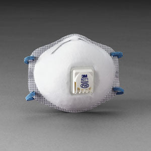 3M™ Particulate Respirator 8577, w/ Cool Flow Valve, P95 with Nuisance Level Organic Vapor Relief (10ea/bx)