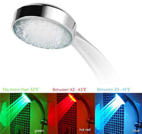 color changing led shower preview