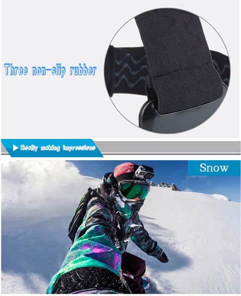 gopro headstrap for snowboarding