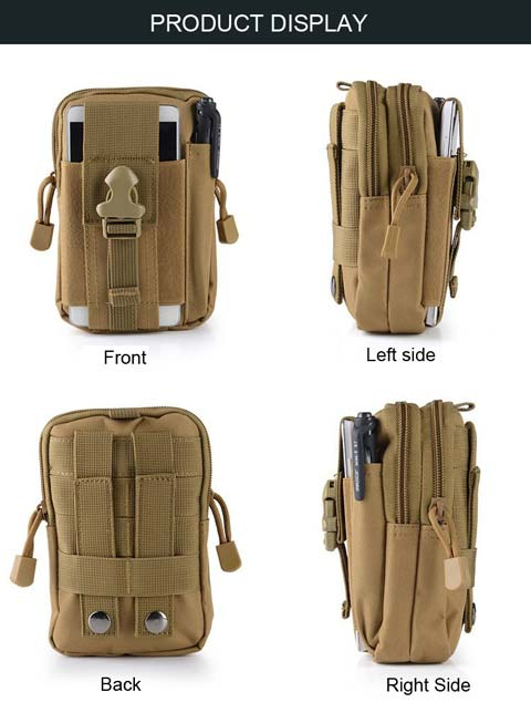 molle waist pouch product details