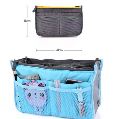 multi-pockets purse organizer product details