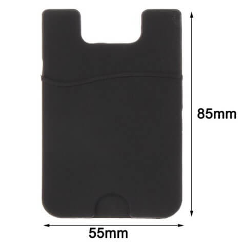 silicone smart wallet for iphone size