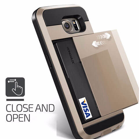 slide card case for samsung card slot