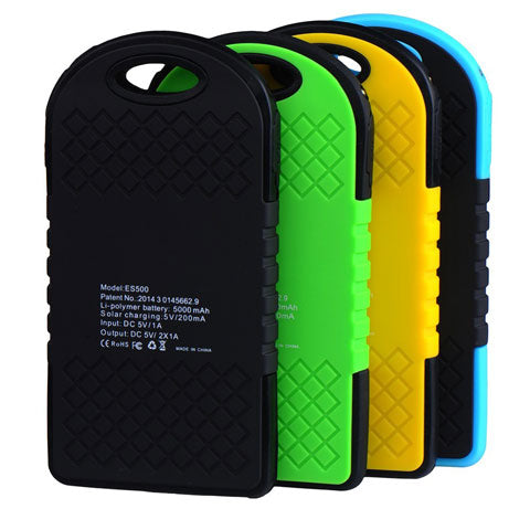 solar power bank all color variants