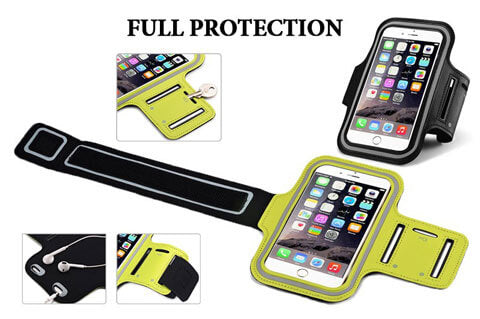 waterproof sports arm band case for smartphones
