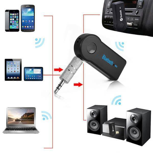 MYMOBILE GEAR Bluetooth AUX Adapter