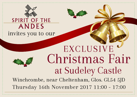 Spirit of the Andes Christmas Fair at Sudeley Castle