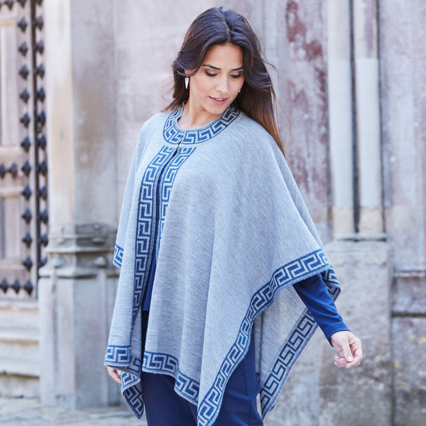 Amalia Baby Alpaca Cape - Spirit of the Andes