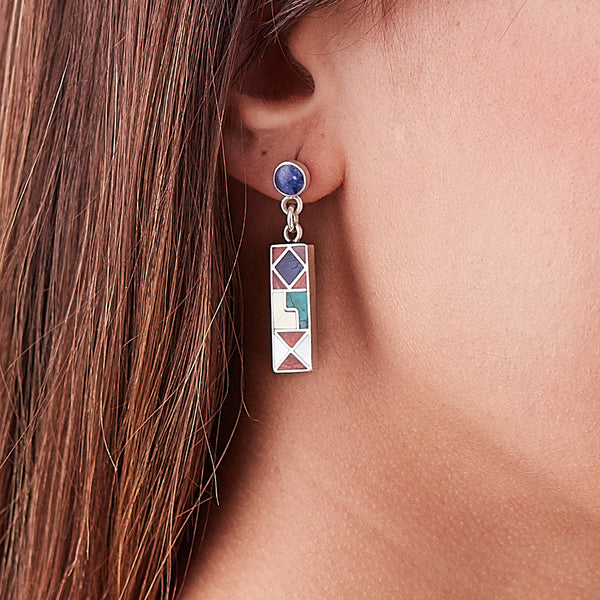 Calendar Earrings - Spirit of the Andes