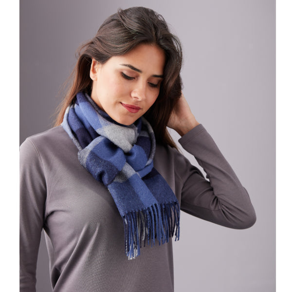 Unisex Brushed Alpaca Scarf - Spirit of the Andes