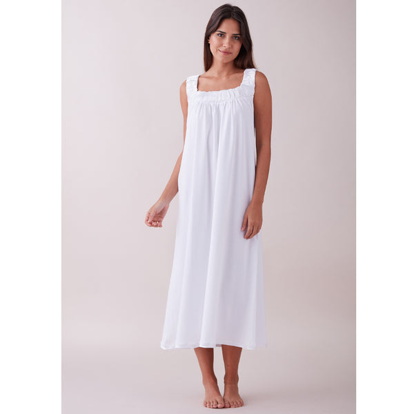 Emilia Pima Cotton Nightdress - Spirit of the Andes