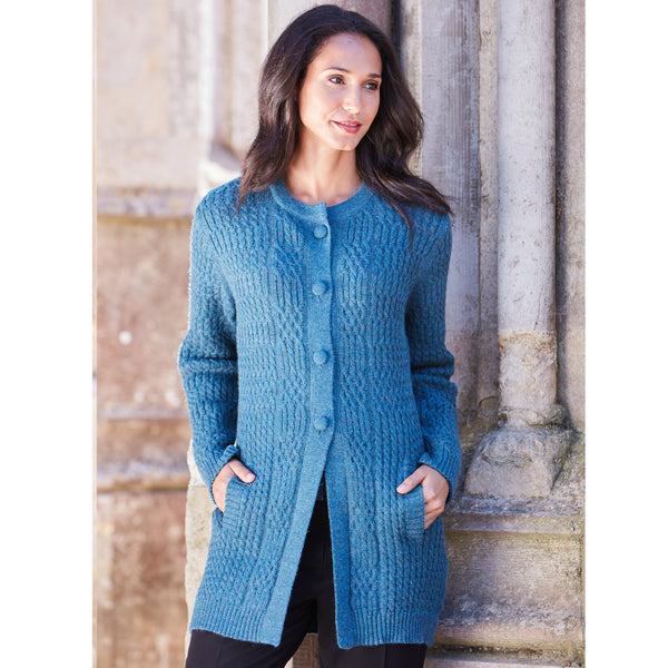 Gabriela Baby Alpaca Cardigan - Spirit of the Andes