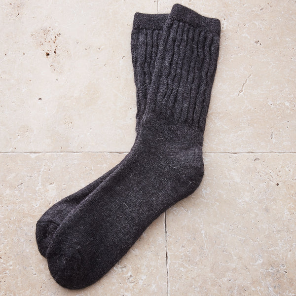Mens Alpaca House & Bed Socks - Spirit of the Andes