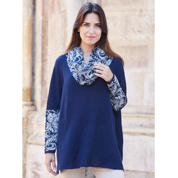 Juliana Cowl Neck Tunic - Spirit of the Andes