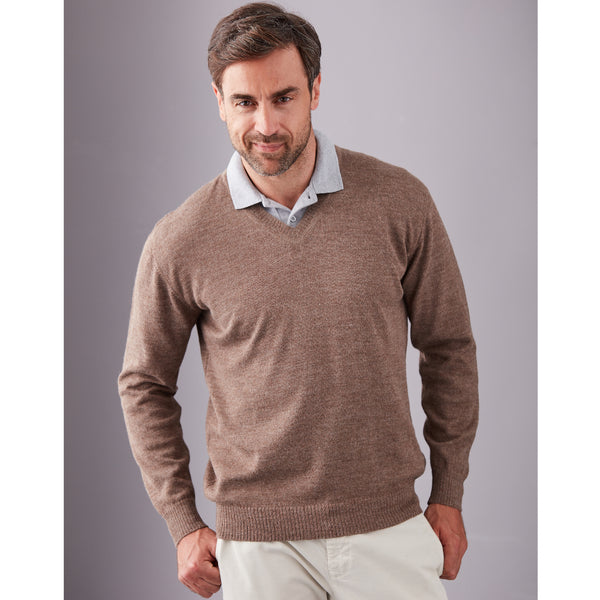 Marcos V-Neck Sweater - Spirit of the Andes