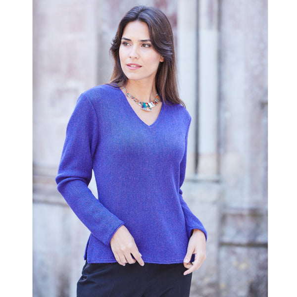 Maria V-Neck Sweater - Spirit of the Andes